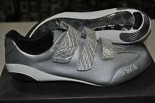 Zapatos ROAD FÍSICA R3 CARBONO SILVER/SHOES road Física R3 carbono SILVER