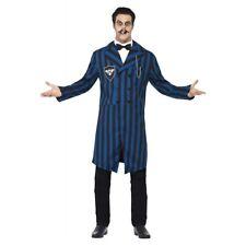 Gomez Addams Costume Adult Creepy Funny Halloween Fancy Dress