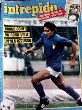 Intrepido 46 1981 Bruno Conti Enzo bearzot