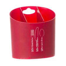 Pot range couverts Rouge
