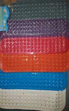 Large Non Slip Rubber Shower Bath Mat Anti Slip Plastic Rubber Shower Mat