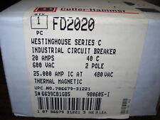 FD2020 CUTLER HAMMER BREAKER NIB OLD STOCK