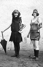 "1922 Bathing Beauty Contest Winners Vintage Photograph  11"" x 17"" Reprint"