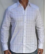 Affliction Black Premium - OUT OF SIGHT - Men's Long Sleeve Dress Shirt - White