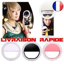 Universal Portátil LED Flash Luz Selfie Luminoso lámpara Teléfono Anillo