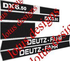 deutz fahr DX6.50 stickers / decals