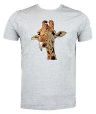 Cheeky Giraffe T shirt - Choice of size & colours.