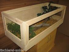 Schildkröten Terrarium 120*60*40cm aus Holz, Landschildkröten, Mäuse, Glas