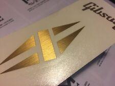 Gibson LP Diamond Metallic Headstock Logo (Vinyl Sticker)
