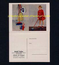 FELLBACH Adolf Kuhn Kinderbesen Kinderartikel * Bestellkarte Werbe-AK um 1950