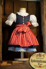 KIDSTRACHT Kinderdirndl Dirndl Gr 62 - 164 Trachtenkleid Babydirndl rot Kärtner