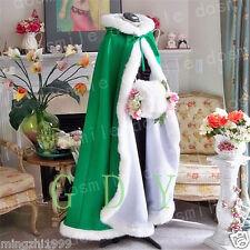 New Winter Long Winter Bridal Wedding Jacket Long Cloak Wrap faux For cloak