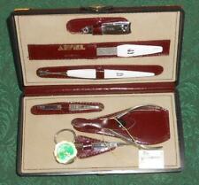 Solingen Arpiel Leather Manicure Kit