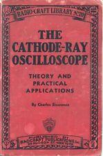 The Cathode-Ray Oscilloscope * Cdrom * Pdf