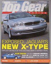 Top Gear 12/2000 featuring Audi S3, Subaru Impreza WRX,Renault Clio V6