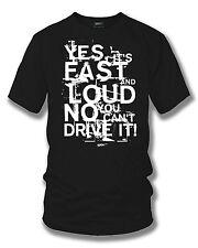 Fast Loud t-shirt - L drag racing, Street racing, muscle car - Wicked Metal