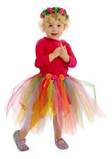 Girls Fairy Skirt Kids Fairy Skirt Fuchsia Rainbow
