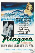 Niagara Marilyn Monroe cult movie poster print #2