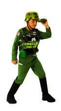 Commando Squad Boys Child Soldier Military Army Halloween Costume