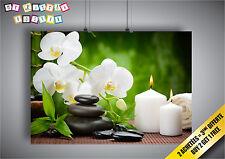 Poster zen BOKEH Garden Buddhism relaxation sweet decoration