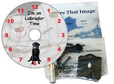 "I'M su ""DOGGY"" TEMPO-CD CLOCK KIT -- razze da un Afghanistan () a j (Jack Russell)"