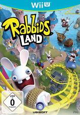 Rabbids Land (Nintendo Wii U, 2012, DVD-Box)