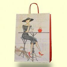 Papiertragetaschen bunt Papiertüten Tragetaschen Tüten Geschenktüten Elegance
