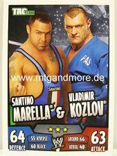 Slam attax rumble-santino marella & vladimir Kozlov-jour équipe
