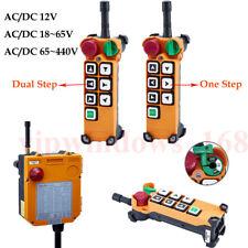 F24-6S F24-6D Crane Radio Wireless Industrial Remote Control Transmitter&Receive