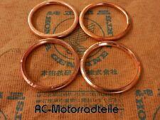 Honda CB 750 Four K0 K1 K2 K6 K7 F2 Krümmerdichtung Auspuff Dichtringe Gasket