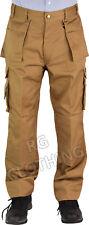 Men's Quality Tuff-Stuff Workwear Kneepad Work Trousers/Combat 28-48 Leg 30,32.5