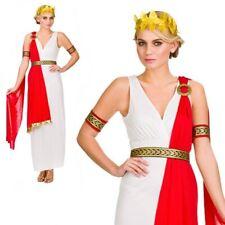 8-20 Mujer Glamoroso Romano Antiguo Roma Disfraz Despedida De Soltera toga