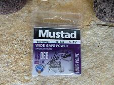Mustad lose competición gancho Wide Gape Power Spade barbless as06b