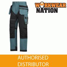 6202 Snickers azul petróleo ruffwork, resistentes Pantalón de trabajo +