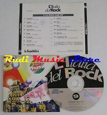 CD L'ITALIA DEL ROCK 9 CCCP DIAFRAMMA LITFIBA DE ANDRE VASCO ROSSI(c28)NO lp*mc