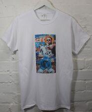 MAC MILLER Coloré Collage Blanc Tee T-shirt en réalité
