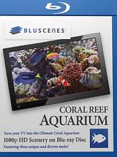 BluScenes: Coral Reef Aquarium [Blu-ray Mint] Played Once