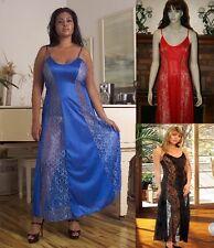 Plus Size Lingerie Nightgown Long Gown Size Large  Plus Size 1X  2X 3X