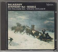 BALAKIREV SINFONIA N 1 RUSSIA SVETLANOV CD