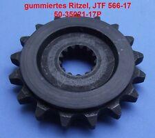 Tuning Ritzel Suzuki GSX 1400, GSX1400, 17 Zähne, 50-35021-17P, 566-17, gummiert