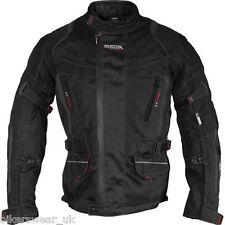 Richa Chaqueta De La Motocicleta Chaqueta Negra De Moto Ridge tamaño 3xl, 4xl, 5XL únicamente
