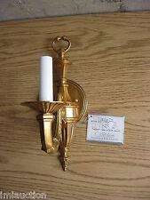 Candel Stick Wall Sconce Light Fixture Metal 120v WB4111-20 Wilshire