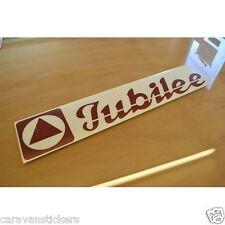 ACE Jubilee-stile (4) - CARAVAN GAS Locker Nome Adesivo Decalcomania Grafica-singolo