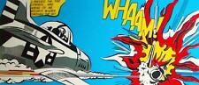Roy Lichtenstein Star Wars Wham Multiple Size Canvas Wall Art Poster Print Sc-fi