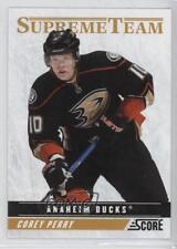 2011-12 Score Supreme Team 11 Corey Perry Anaheim Ducks (Mighty of Anaheim) Card