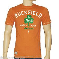 RUCKFIELD SEBASTIEN CHABALTee shirt orange IRLANDE homme taille S