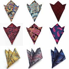 F-3L  53 Color Hot  Mens Handkerchief Lot Silk Pocket Square Hanky Wedding Party