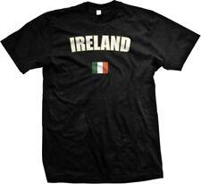 Ireland Irish British Isles Island Flag Country Pride Gaelic Mens T-shirt