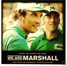 We Are Marshall - 2006 - Original Movie Soindtrack CD