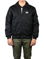 Original ben davis Mechanics Jacket chaqueta Black (Workwear since 1935) cazadora